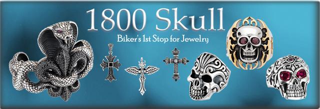 1800Skull Biker's 1st stop for jewelry